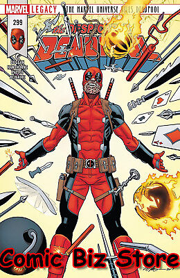 Despicable Deadpool #299 (2018) 1St Print Bagged & Baorded Marvel Legacy Tie-In
