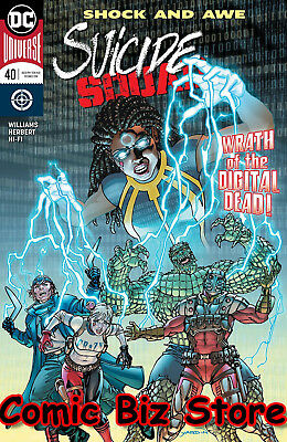 Suicide Squad #40 (2018) 1St Printing Dc Universe Rebirth Bagged & Boarded