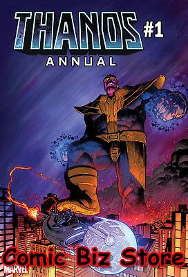 Thanos Annual #1 (2018) 1St Printing Bagged & Boarded Marvel Comics