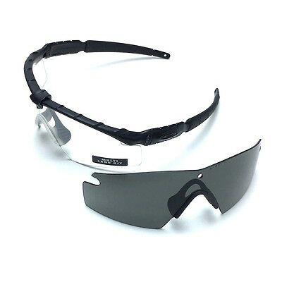 362ec00a315 Authentic Oakley SI Ballistic M Frame 2.0 Military Safety Shooting Glasses  Kit