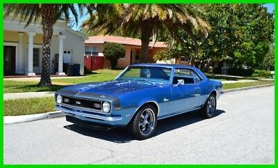 Chevrolet Camaro SS tribute 396 V8 Automatic Fatory Lemans Blue 1968 SS tribute 396 V8 Automatic Fatory Lemans Blue Used Automatic