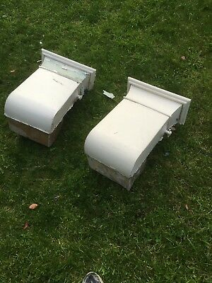 2 Antique Victorian Heating Ducts/Air Vents Architectural Salvage Baxendale