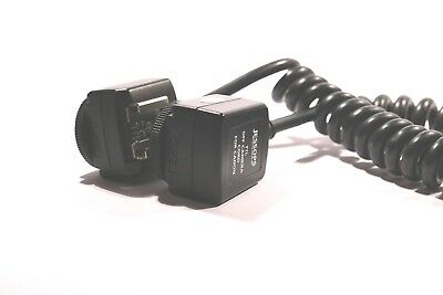 Jessops TTL OFF Camera Flash cord For Canon USED
