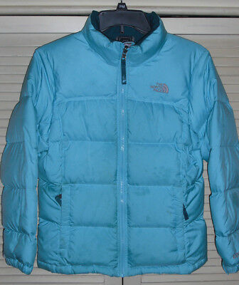 The North Face 600 Down Puffer Jacket Girls Size 14-16 STAINED See Pictures