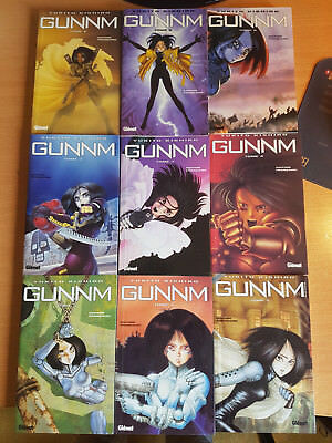 Mangas - in French - Lot - Gunnm - BE Complet 9/9 RARE