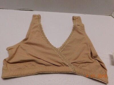 e489b34e4 Oh Baby By Motherhood Maternity Beige Wire-Free Sleep Nursing Bra SIZE  SMALL NWT