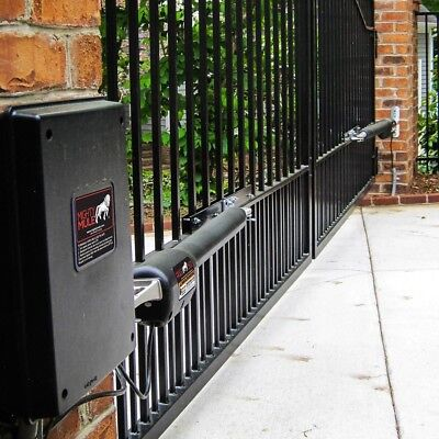 Heavy Duty Dual Swing Mighty Mule Automatic Gate Opener Farm Fence Replacement