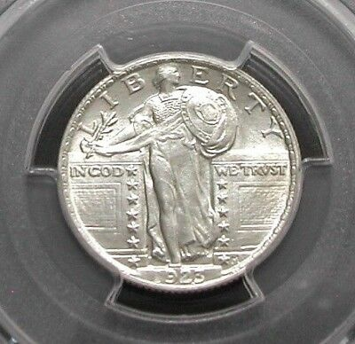 1923 Pcgs Ms64 Standing Liberty Quarter - White / No Toning / Clear Surfaces