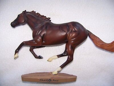 Breyer Model Race Horse Legend Smarty Jones 12 x 9 Traditional Free Shipping