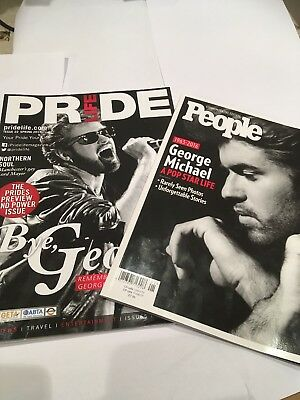 George Michael The People Commemorative Edition And Pride Magazine
