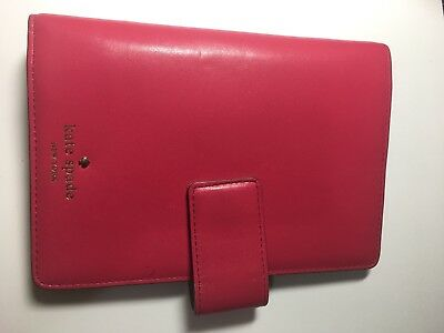 Kate Spade Hot Pink Tudor City Debra Personal Agenda Pre-owned