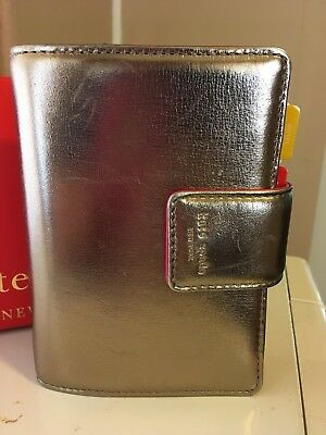 Kate Spade Leather Pocket Debra Agenda Planner Wallet *RARE*