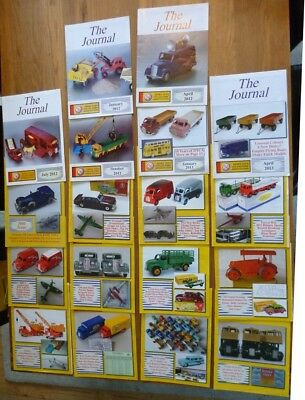 Set of 18 The Journal Dinky Toys Collectors  Magazines Jan 2012 - October 2016