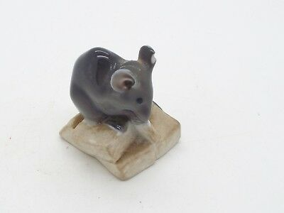 Collectable Royal Copenhagen Ceramic Mouse on Sugar Cubes by Erik Neilson a/f