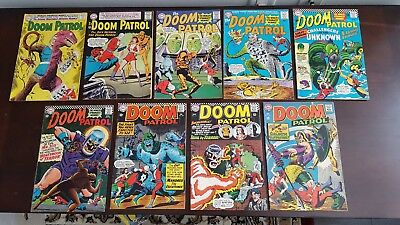 Doom Patrol 89-116 Lot of 9