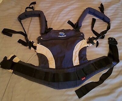 Manduca navy baby carrier/sling