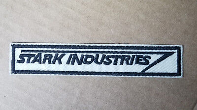 Iron man Stark Industries Logo embroidered Patch 4 1/2 inches