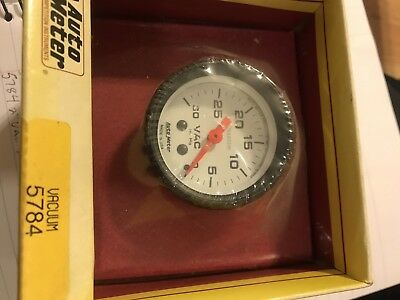 Auto Meter 5784 Phantom Mechanical Vacuum Gauge