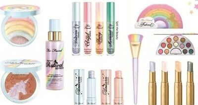 Life's A Festival Unicorn Rainbow Too Faced Collection-Pick 1~Fresh~Fast Ship