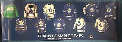 "Toronto Maple Leafs - The Maple Leaf Forever Poster - 12"" x 38"""