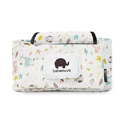White Mint Green Owl  Multi Stroller Organizer(Created For Your Beloved Child)