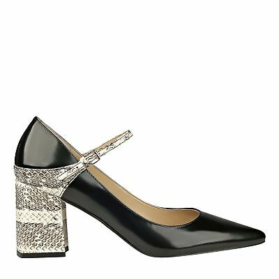 c874027859e MARC FISHER WOMENS Zullys Leather Pointed Toe Ankle Strap