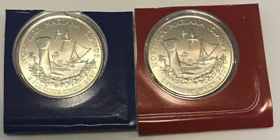 2009 P D Northern Mariana Islands Quarters BU in US Mint Cello - 2 Coin Set