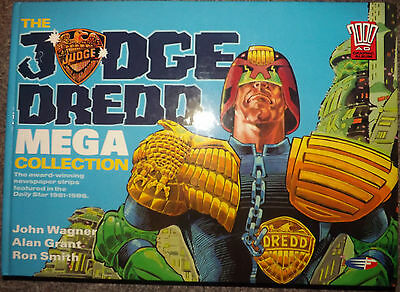 Judge Dredd Mega Collection H/B #1 (1990) 1st Edition VF condition