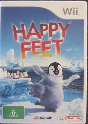 Happy Feet - Nintendo Wii Game - FREE POST