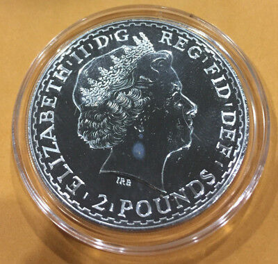 2014 Great Britain 1 oz Silver Britannia BU in AirTite