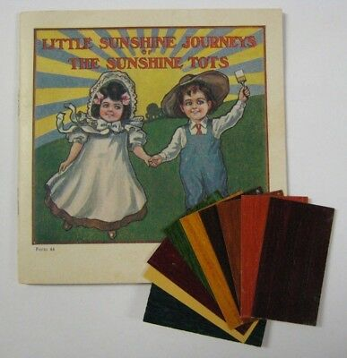 RARE Vintage SUNSHINE FINISHES Heath & Milligan Book & SAMPLE SHADE CARDS Paint