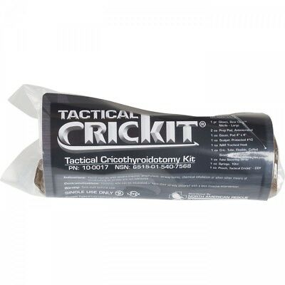 Tactical CricKit Tactical Cricothyroidotomy Kit Tactical Medic Paramedic