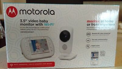 ***NEW***Motorola MBP668CONNECT Wi-Fi ~ Baby Monitor with 3.5-Inch lcd screen