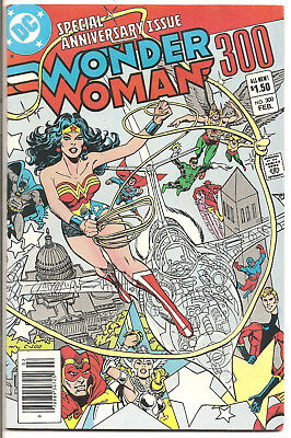 Wonder Woman #300 Special Anniversary Issue! Giant!