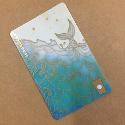 FAST SHIPPING New 2018 Starbucks China Summer Ocean Siren MSR Card With Sleeve