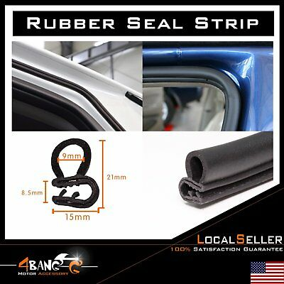 Car Door Seal Weather Stripping Edge Trim Guard Protect Decorate Waterproof 10ft