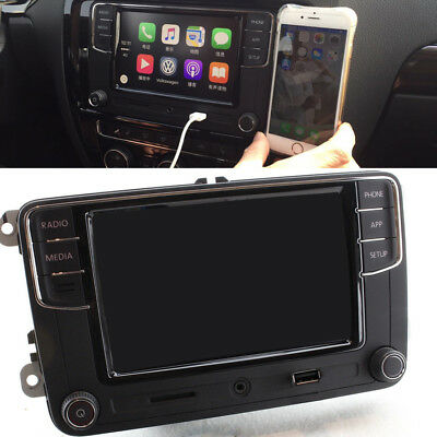 "RCD330 6.5"" MIB Car Radio Bluetooth Carplay For VW Tiguan Golf Jetta Passat Polo"