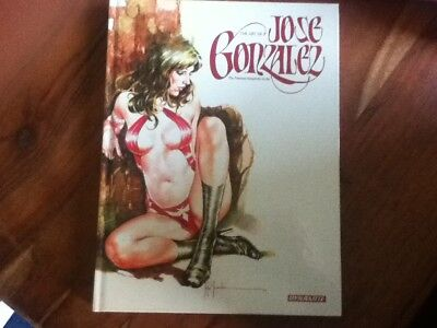 THE ART OF JOSE GONZALEZ - The Premiere Vampirella artist - Hardback