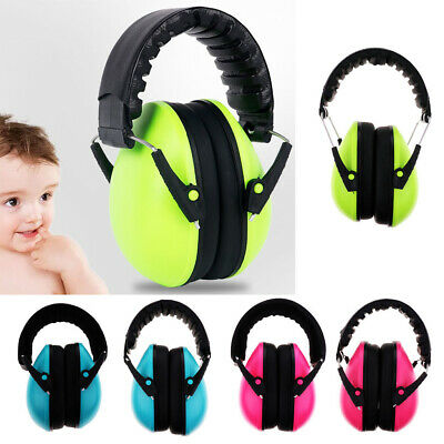 Professional Padded Head Band Ear Defenders Safety Ear Muffs NRR 21DB For Kids