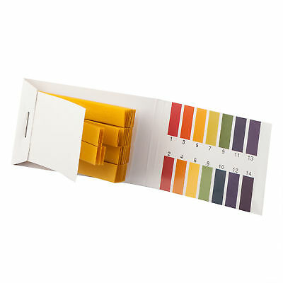 Litmus pH 1 to 14 Test Paper Book 80 Strips