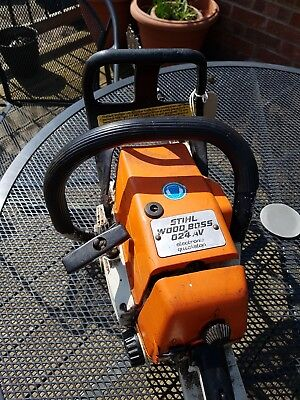 Stihl 024 Chainsaw In Good Working Order