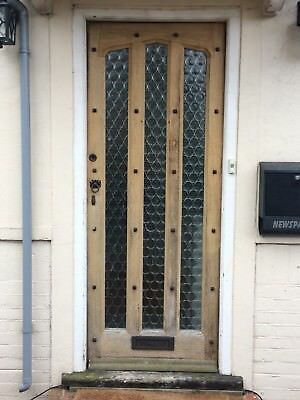 1930s FRONT DOOR WOODEN GLAZED PERIOD EXTERNAL