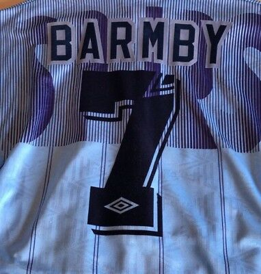 Original Tottenham Hotspur Away 1991-94 Shirt Print. Any Name. Any Number.