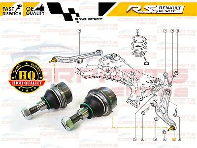 For Renault Clio Sport Mk3 Rs 197 200 Front Control Arm Ball Joint Pair
