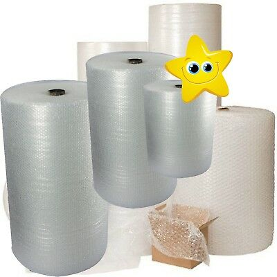 Bubble Wrap 100 meters Rolls Packing Supplies - Widths 300/500/750/1000/1500mm