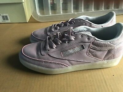 ecaf59c73fb29 Reebok C 85 Club Fbt Pink Decan Women s Trainers Brand New Uk 4.5 Us 7 Eu