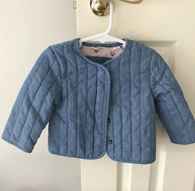 Country Road Baby Girls Denim Jacket, Size 6-12 Months (0) BNWOT