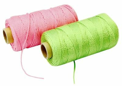 Rolson Brick Line Assorted Flourescent Colours 152M Hardware Rope Ware New