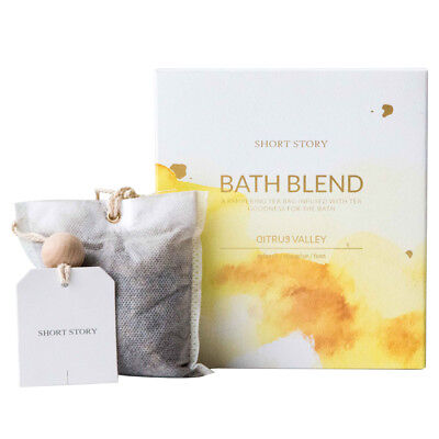 Short Story Herbal Bath Blend Citrus Valley - Refresh & Energise - FREE DELIVERY