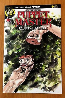 Puppet Master Curtain Call # 1 Cover C Variant 1st Print Danger Zone 2017 NM